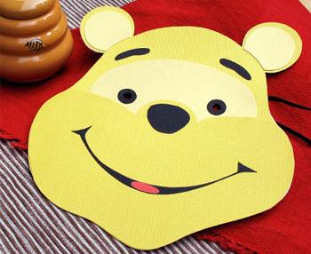 Printable Pooh Mask