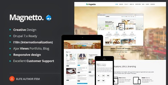 Magnetto Drupal Theme