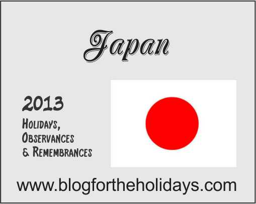 Japan_2013-Calendar-of_Holidays_And_Observances_Blog_For_The_Holidays ...