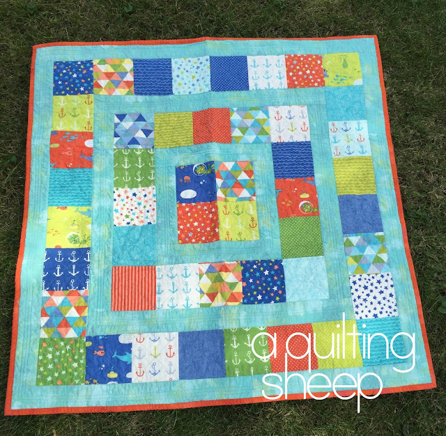 A Quilting Sheep Baby Quilts 1 4