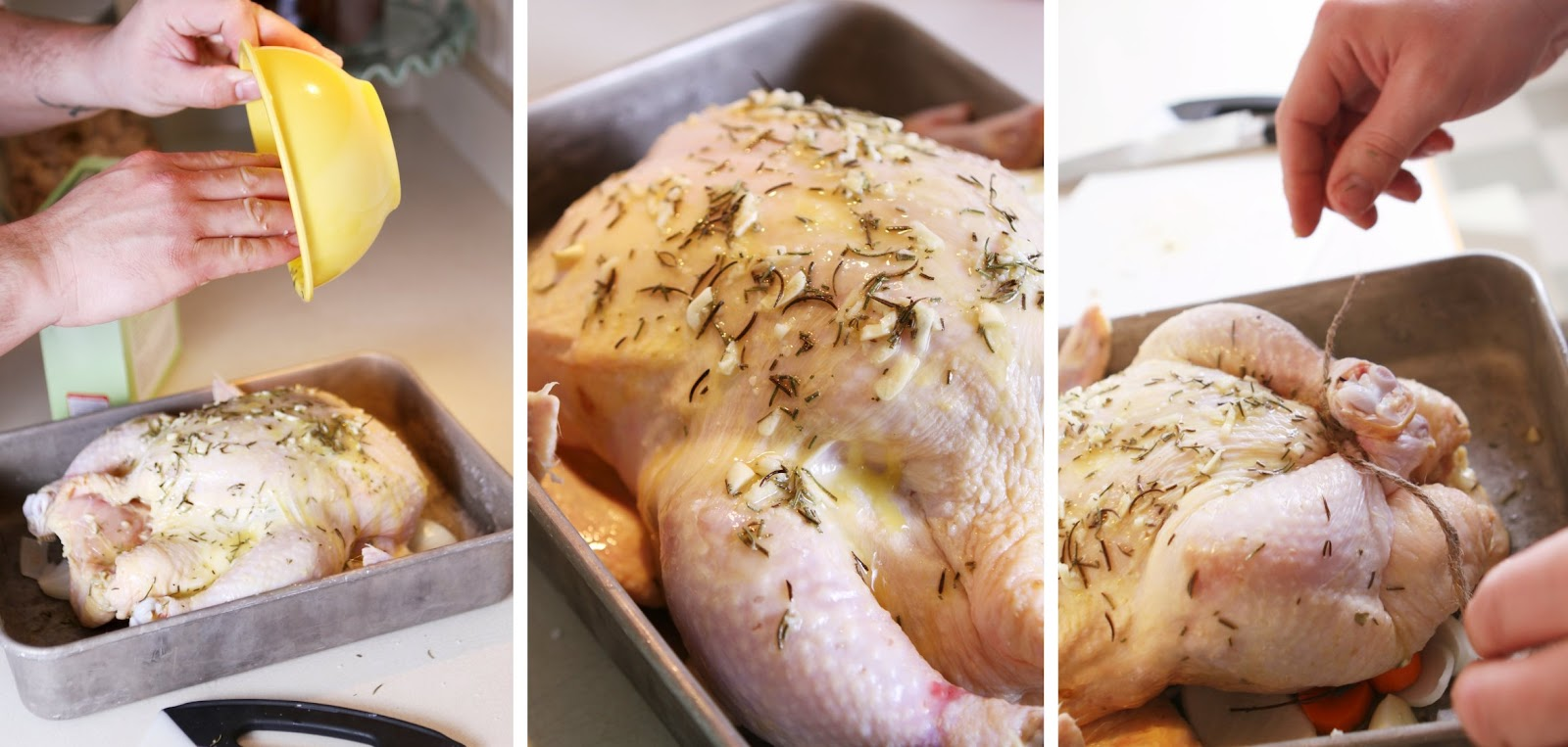 how to cook chicken legs in a roasting pan