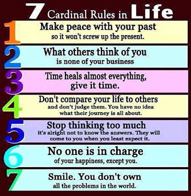 7 Cardinal, Rules, Life, quotes, sayings, tapandaola111