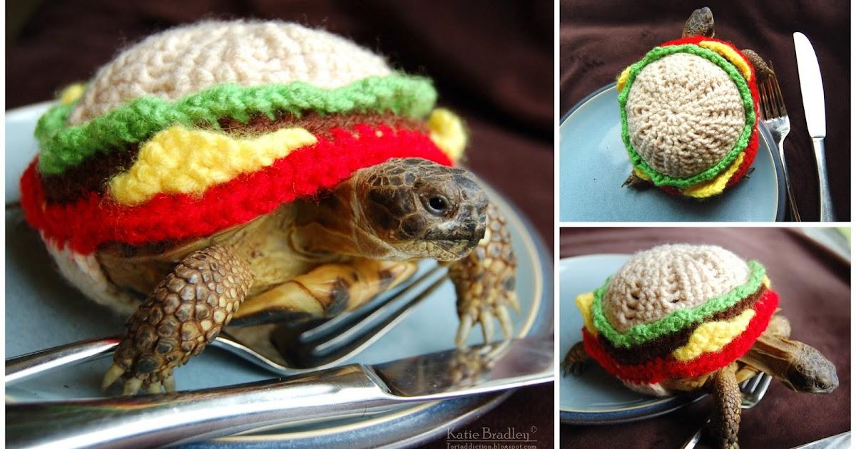 Tortaddiction New Tortoise Cozy Design The Cheeseburger Tortoise