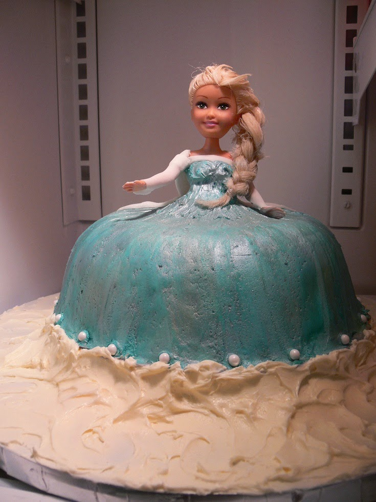 Ultimately Chocolate CAKES Elsa Cake for a Frozen Birthday Party