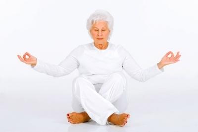 Practicando yoga