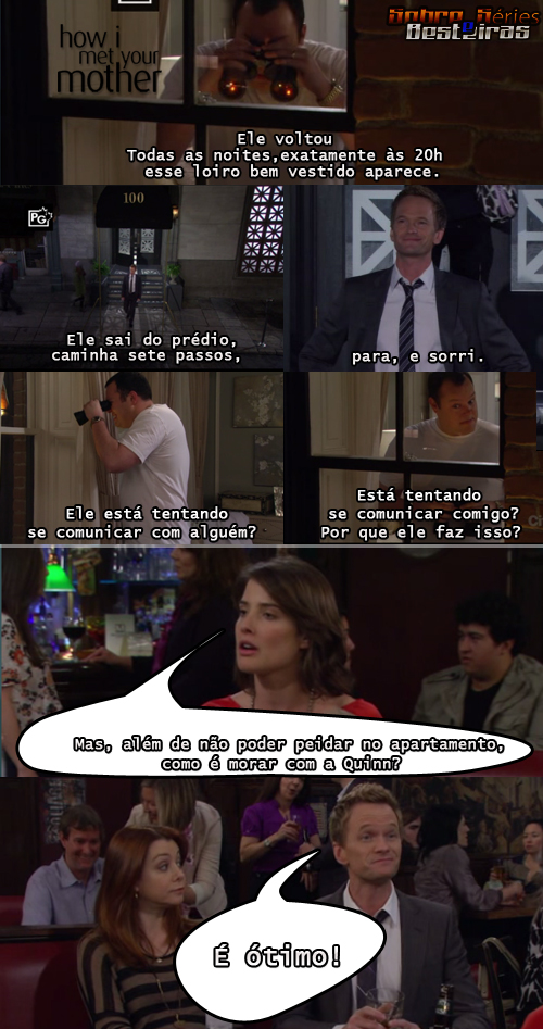 How I Met Your Mother Legendary Seriado truestory # truestory