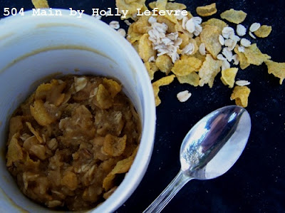 Oatmeal Crunch Cookie in a Cup