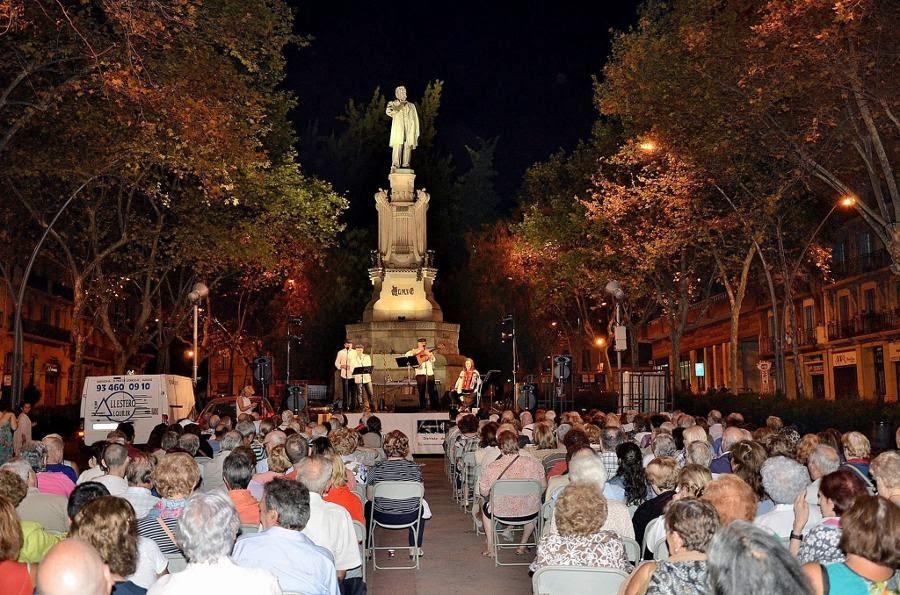 Havaneres al Pg. Sant Joan. Grup Barcanova
