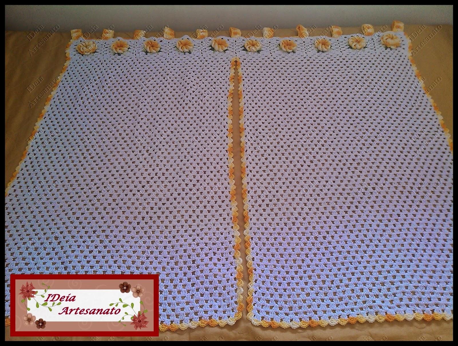 Cortina De Croche Para Cozinha Em Barbante Oppenau Info