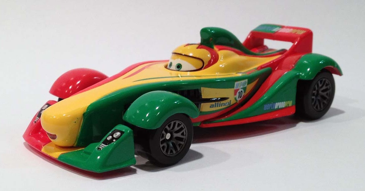 Disney Pixar Cars 2 RIP CLUTCHGONESKI WGP Series by Mattel