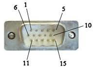 D15 Male VGA