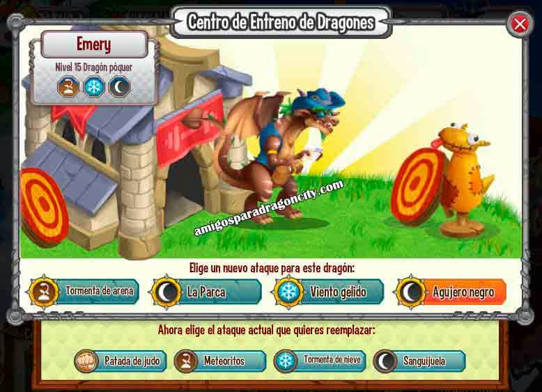 imagen de los ataques del dragon poker