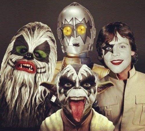 Star Wars se mete en la piel de Kiss
