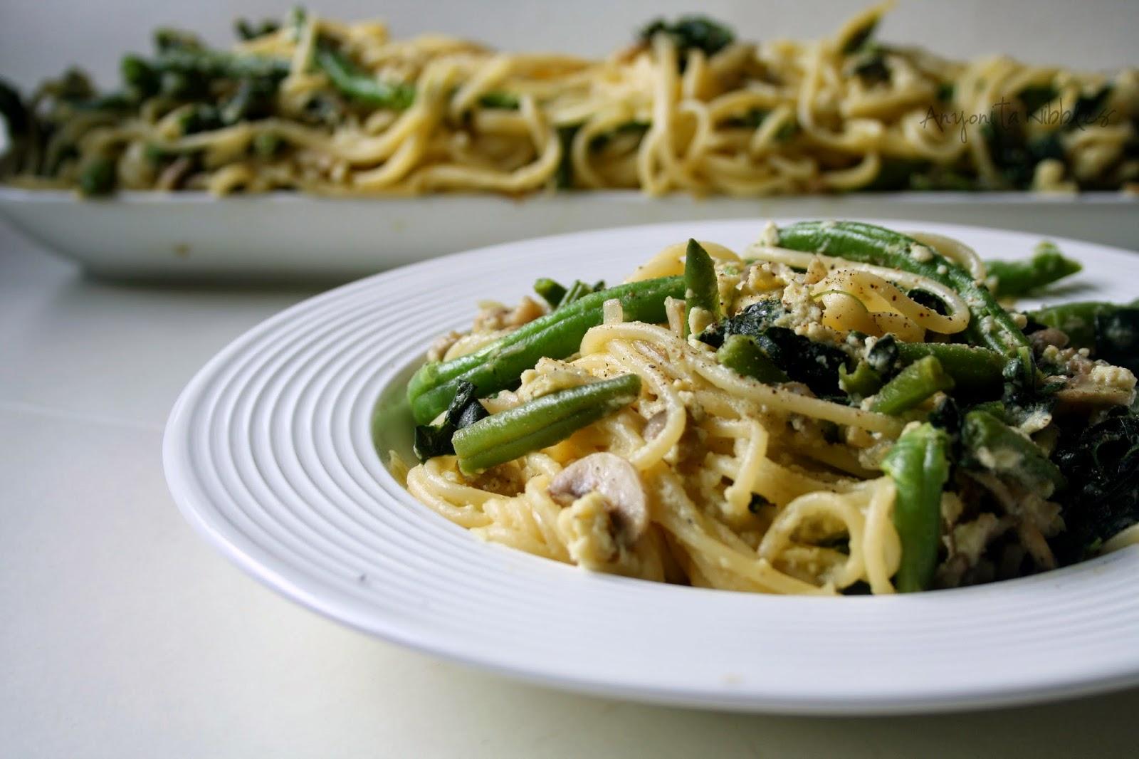 Delicious kale carbonara | Anyonita Nibbles