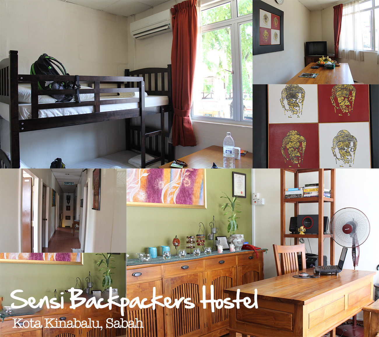 Kota Kinabalu Sensi Backpackers Hostel