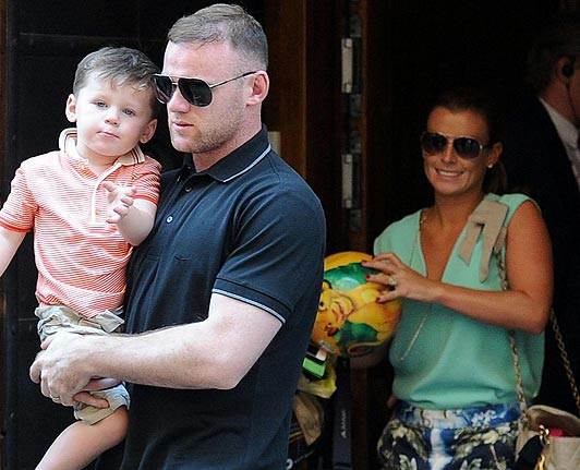 Wayne Rooney Wife Wayne Rooney With Wife Pictures