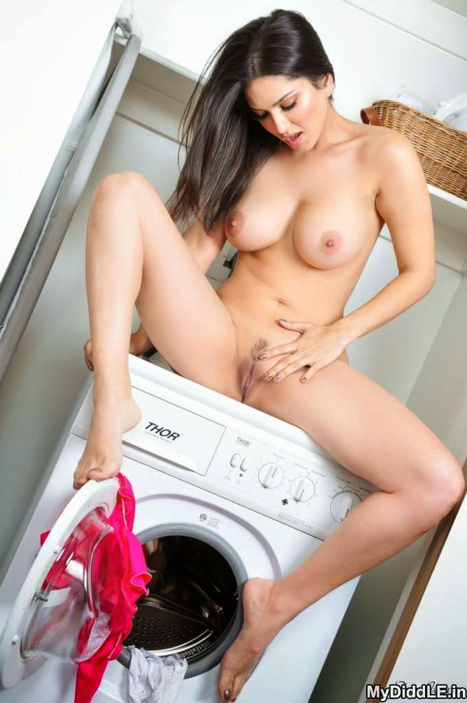 Girl on washing machine nude topic