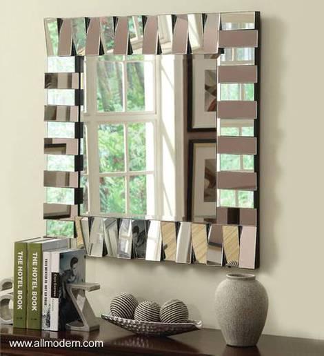 Espejos modernos para comedor espejos originales en forma for Espejos originales