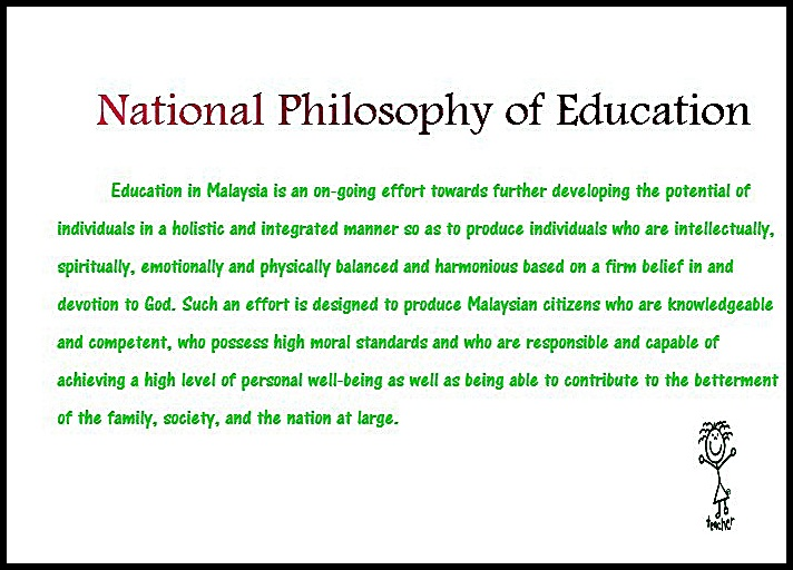 elements of national philosophy of education The philosophy based on the belief that ideas are the only reliable form of reality is idealism the writings of homer, shakespeare, melville, and einstein are an essential component of curriculum in which philosophy of education.