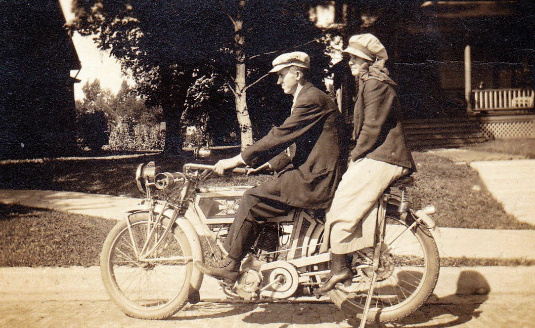 Excelsior motorcycle.