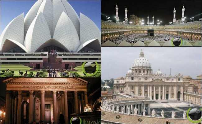 Bangunan Indah yang menjadi Simbol Agama di Dunia