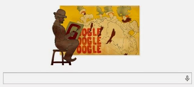 Google Doodle Hari Ini Merayakan Ultah Henri de Toulouse-Lautrec yang Ke 150 Tahun