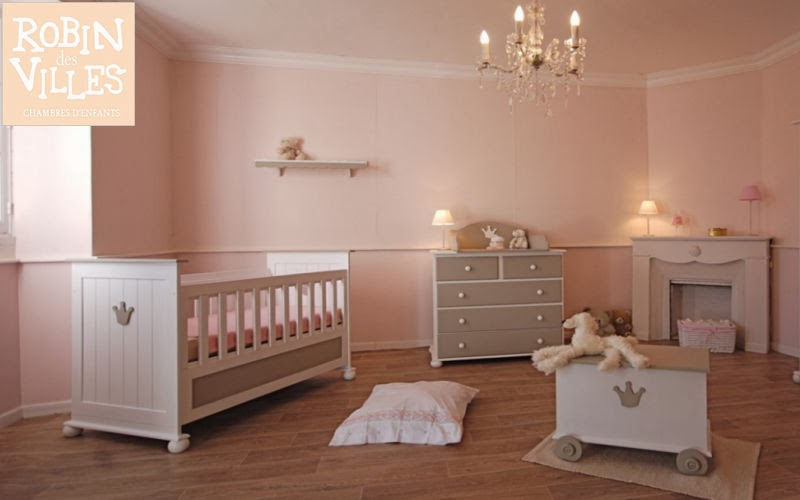 Dormitorios para beb en rosa y marr n colores en casa - Colores habitacion bebe ...