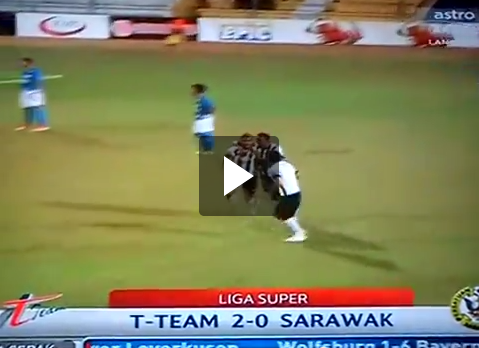 Highlights T Team mln Sarawak 08 Mac 2014