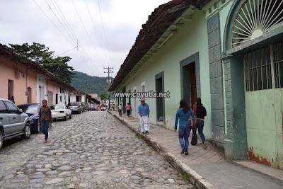 calles empedradas de Coyutla, Ver