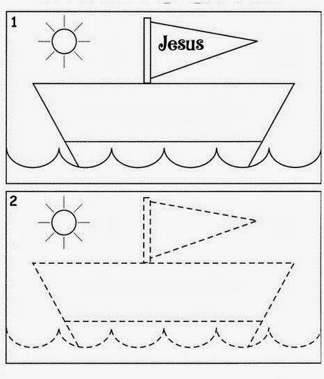 ME ABURRE LA RELIGIÓN: JESÚS CALMA LA TEMPESTAD