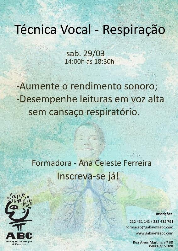 curso de voz, Ana Celeste Ferreira