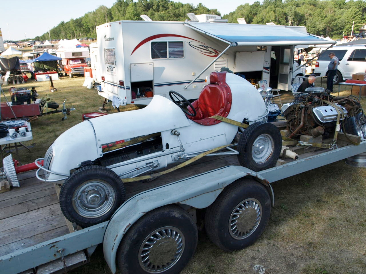 Go Poverty Flats: 2012 Iola, Wisconsin Swap Meet featuring old car ...