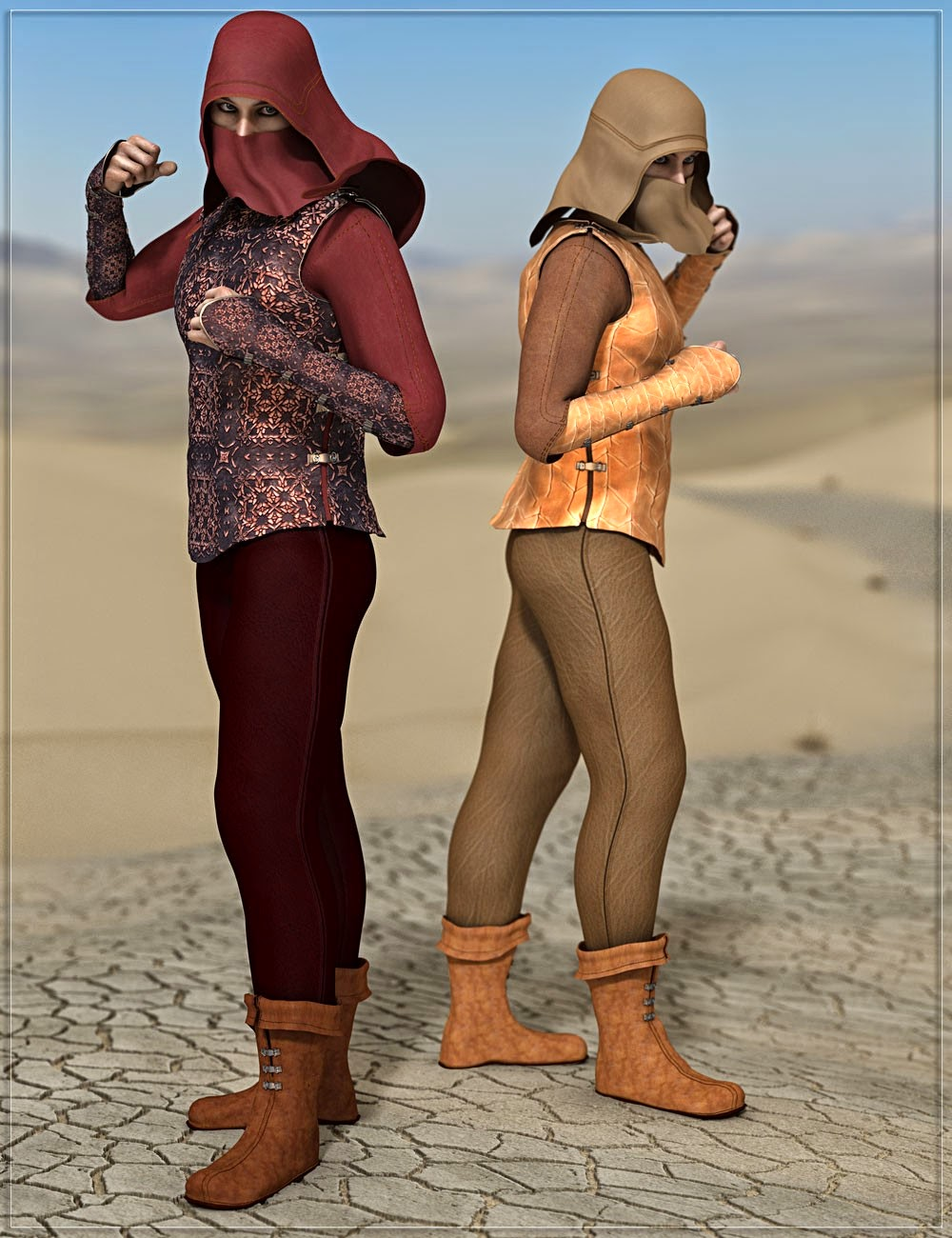 RW Desert Prince for Genesis 2 Male