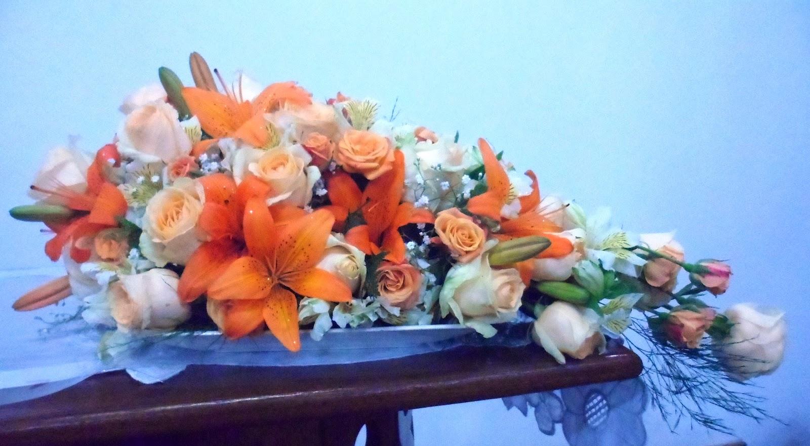flores jardim camburi : flores jardim camburi:Divina Flor!: Arranjo para vigília Jardim Camburi 2