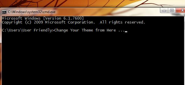 Cara Merubah Tema Windows Menggunakan Command Prompt
