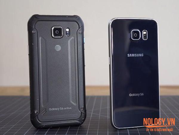 Sự khác biệt giữa Samsung Galaxy S6 xách tay và Samsung Galaxy S6 Active.