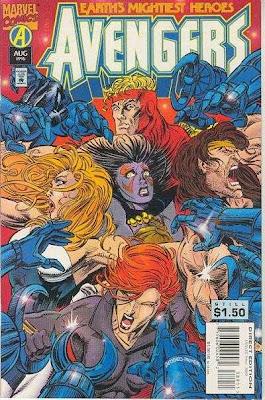 Avengers 389 cover