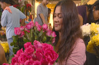 Dina Bonnevie and her rose business