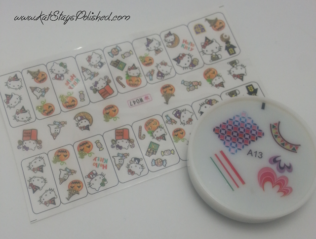 kkCenterHK - Hello Kitty Water Decals - Rubber Stamper