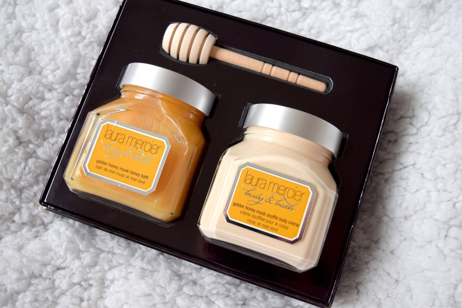Laura Mercier Golden Honey Musk Bath and Body Duo