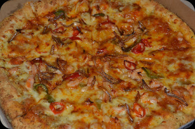 dominos pizza Spicy Sambal