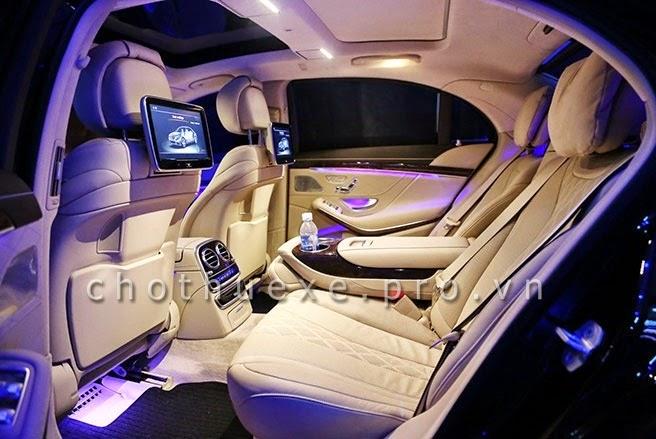 Cho thuê xe Mercedes S500L 2014 bản xe VIP mới nhất hiện nay 3