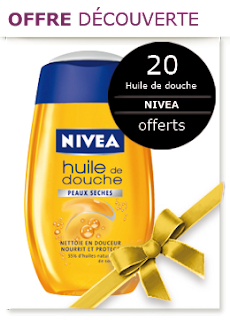 Jeu Les Victoires de la Beauté: 20 huiles de douche Nivea à gagner.
