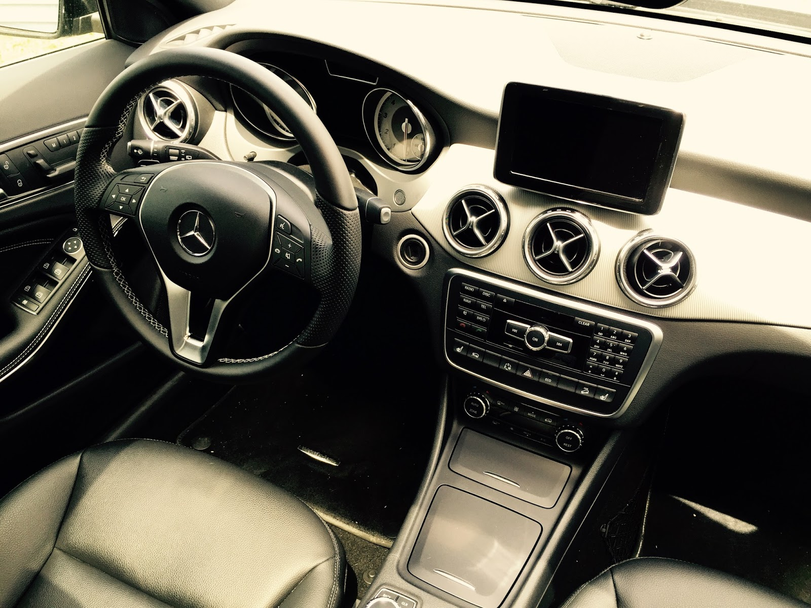 2015 mercedes benz gla250 4matic interior
