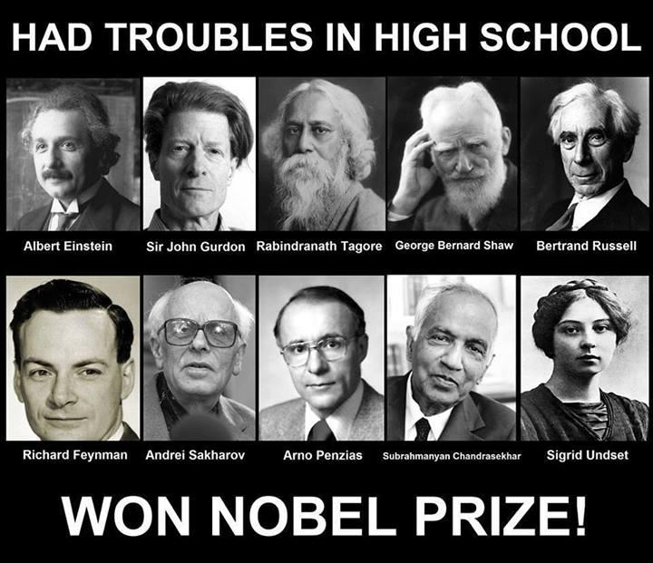 Won NOBEL Prize!