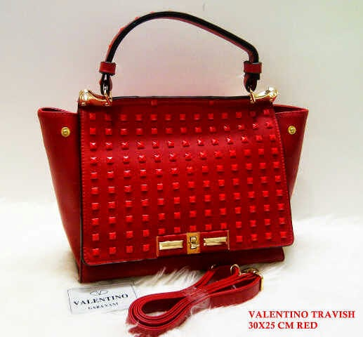 Tas Valentino terbaru Tas Valentino Travish pink biru merah gold hitam khaki supplier eceran grosir tas harga murah