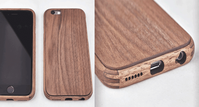 Walnut wood iPhone6 Case