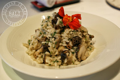 Gluten Free in Bali - Cascades Restaurant Fresh Herb Mushroom Risotto