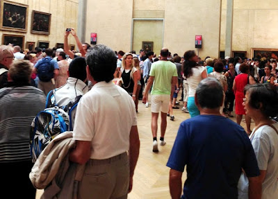 funny crowd Mona Lisa