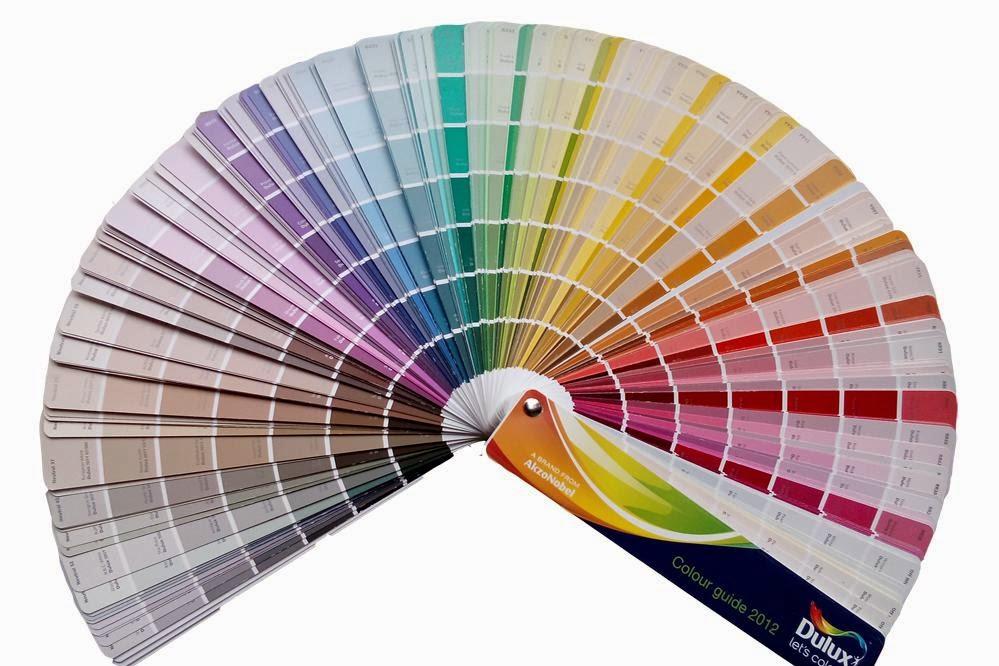 Quạt màu sơn nước Dulux